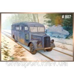 Німецький штабний автобус Opel Blitz 3.6 – 47 Omnibus W39 Ludewig (Essen) (код 200-248639), фото 2