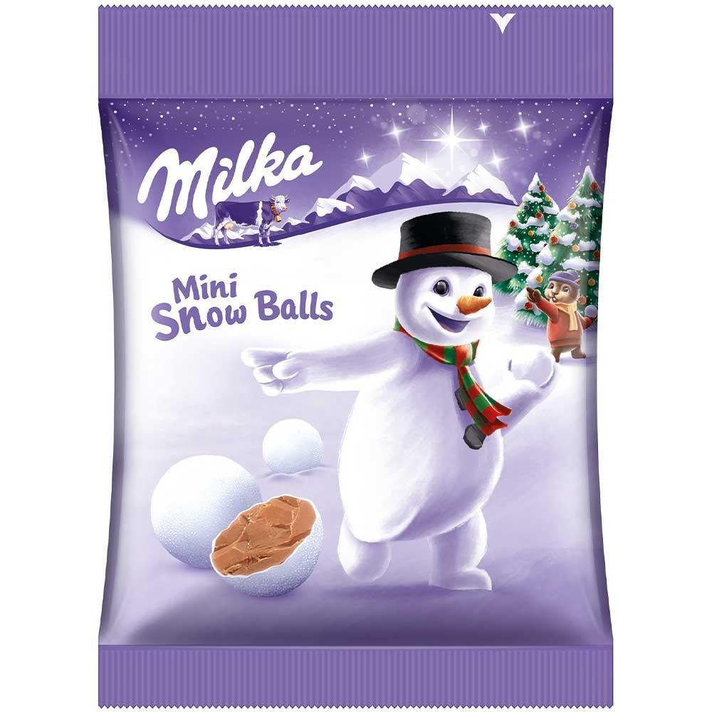 Шоколадна фігурка Milka Mini Snow Balls 100 g
