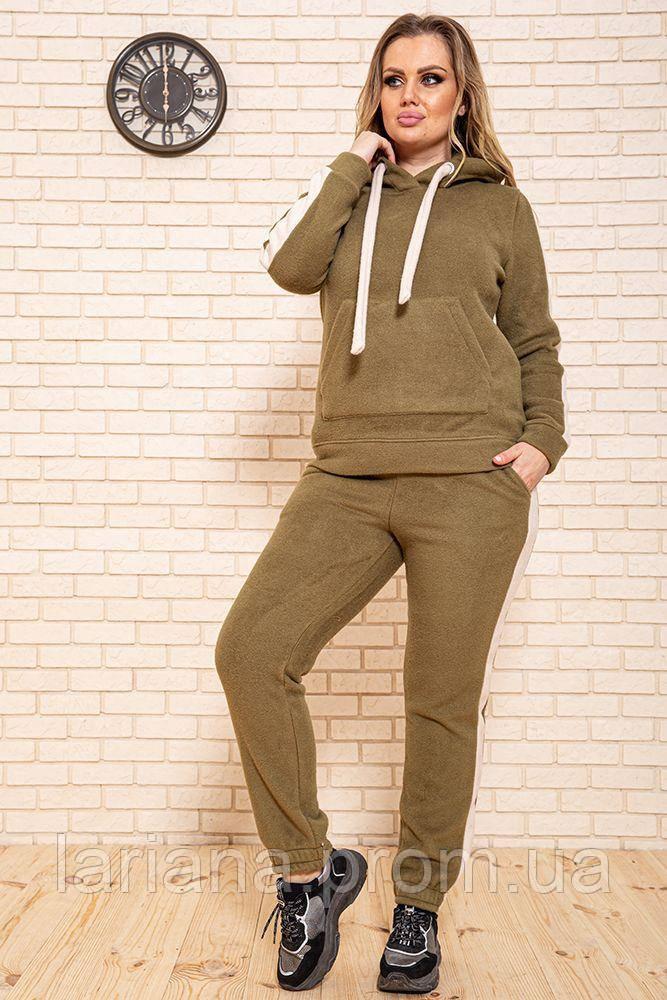 Спорт костюм жіночий 119R223 колір Оливковий
