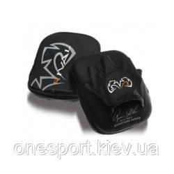 Лапы RIVAL Workout Punch Mitts чёрный + сертификат на 50 грн в подарок (код 179-497368)