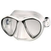 Маска для плавания IST SPORT M88-W/MK Bluetech mask маска+бокс белый (код 125-68949)