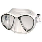 Маска для плавання IST SPORT M88-W/MK Bluetech mask маска+бокс білий (код 125-68949)