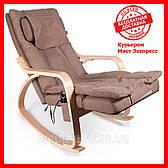 Массажное кресло Barsky VRM-01 VR Massage, коричневый