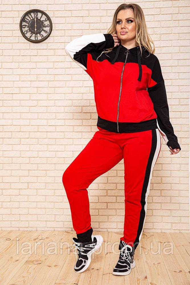 Спорт костюм женский 102R030-1 цвет Красный