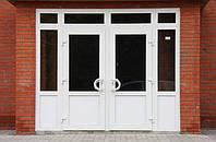 Двери металлопластиковые входные, межкомнатные, бапконные.