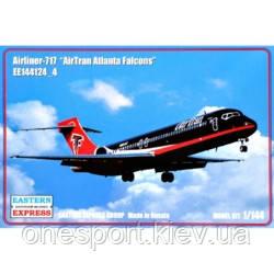 Пассажирский самолет 717 AirTran Atlanta Falcons + сертификат на 50 грн в подарок (код 200-504643)