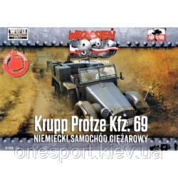 Немецкий тягач Krupp Protze Kfz.69 (код 200-504648)