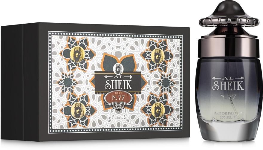 Мужская парфюмерная вода Al Sheikh Rich 77 100ml. Fragrance World.
