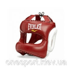 Шолом EVERLAST MX Headgear M червоний + сертифікат на 300 грн в подарунок (код 179-444961)