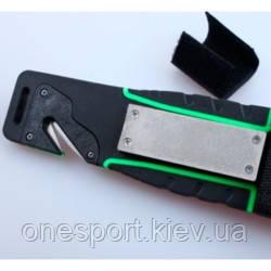 Нож Ganzo G8012 зеленый + сертификат на 50 грн в подарок (код 161-347819)