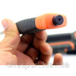 Нож Ganzo G8012 оранжевый + сертификат на 50 грн в подарок (код 161-347820)