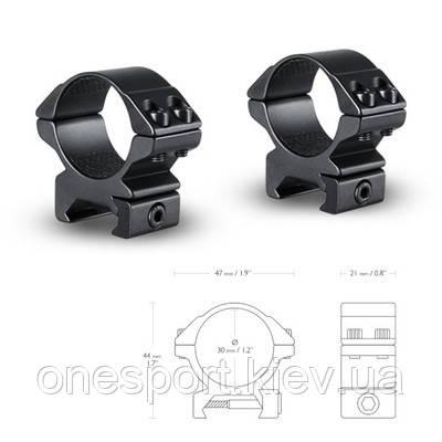 Аксесуари Hawke Кільця Matchmount 30mm/Weaver/Low (код 218-446302)