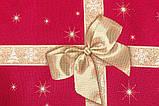 """Скатертина новорічна гобеленова """"Подарункова"""" 137 х 280 см, фото 3"""