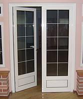 Двери металлопластиковые межкомнатные
