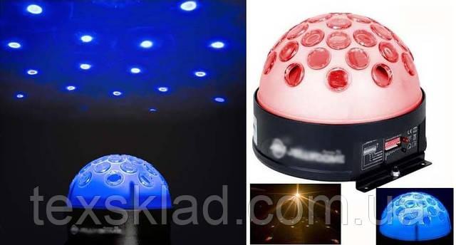 Диско шарMusic Ball MP 3 светоустановка