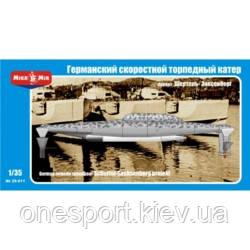 Германский скоростной торпедный катер проект Шертель (код 200-265256)