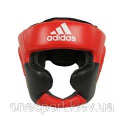 Шолом Тренувальний ADIDAS Super Pro Extra Protect L чорний/червоний + сертифікат на 200 грн в подарунок (код