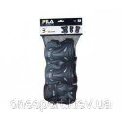 Fila 16 захист 60750868 FILA ADULT FP GEARS L blk/lm (коліно, лікоть, запястя) (код 125-361605)