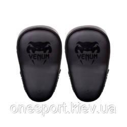 Лапы VENUM Elite Big Focus Mitts чёрный + сертификат на 300 грн в подарок (код 179-522557)