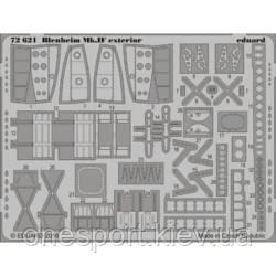 Фототравлення 1/72 Blenheim Mk.IF екстер'єр (Airfix) (код 200-522797)