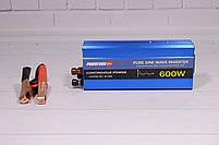 Преобразователь Напряжения (Инвертор) Powerone 12- 220V - 600W - Чистая Синусоида, фото 9
