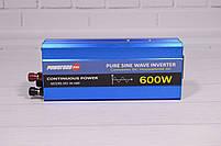 Преобразователь Напряжения (Инвертор) Powerone 12- 220V - 600W - Чистая Синусоида, фото 3