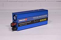 Преобразователь Напряжения (Инвертор) Powerone 12- 220V - 600W - Чистая Синусоида, фото 4