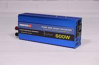 Преобразователь Напряжения (Инвертор) Powerone 12- 220V - 600W - Чистая Синусоида, фото 2