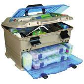 T5P Ящик-станция рыболовный пластиковый Flambeau Multiloader Pro 35,5х15,2х26,6см + сертификат на 200 грн в, фото 2