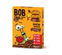 Натуральні мангові цукерки в бельгійському молочному шоколаді snail bob (Равлик Боб), 60г