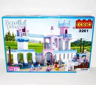 Конструктор COGO 3261 замок принцессы 600дет.кор.56,5*7*37,8