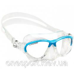 ДВ Cressi мас MOON KID JR CLEAR-BLUE 7-15років (маска) (DN200620) (код 125-523685)