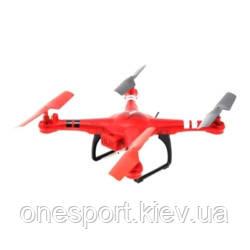Квадрокоптер р/у WL Toys Q222K Spaceship з барометром камерою і Wi-Fi (червоний) + сертифікат на 150 грн