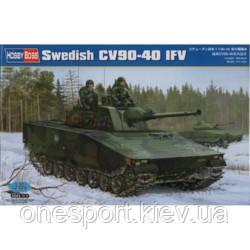 Шведская боевая машина пехоты CV90-40 + сертификат на 50 грн в подарок (код 200-266692)