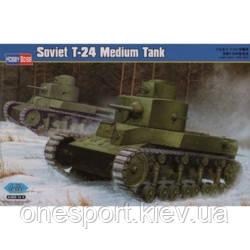 Радянський середній танк T-24 (код 200-266708)