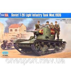 Советский легкий танк Т-26 образца 1935 г. (код 200-266711)