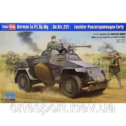 Немецкий бронеавтомобиль Le.Pz.Sp.Wg (Sd.Kfz.221) Leichter Panzerspahwagen, ранний (код 200-266756), фото 2