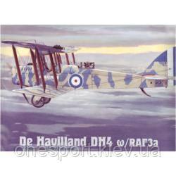 Пластикова модель літака Havilland DH4 w/RAF3a (код 200-106985)