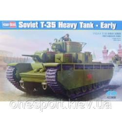 Советский танк Т-35, ранний + сертификат на 100 грн в подарок (код 200-266767)