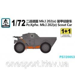 Бронеавтомобиль Pz.Kpfw.Mk.I 202(e) (код 200-266924)