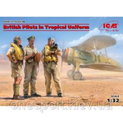 ICM32106 Пілоти ВПС Великобританії в тропічній уніформі (1939-1943) (код 200-641745), фото 2