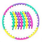 Массажный хулахуп для похудения и коррекции талии Massage Hoop 1108 диаметр 96 см, массажный обруч, фото 5