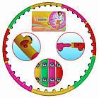 Массажный хулахуп для похудения и коррекции талии Massage Hoop 1108 диаметр 96 см, массажный обруч, фото 7