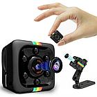 Мини камера OMG SQ11 1080P, цветная камера видео наблюдения с записью звука и ночным видением, фото 2