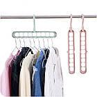 Плечики-органайзер для одежды Wonder Hanger Magic Hanger Clothes ( Чудо-вешалка ) 2 шт в наборе, фото 3