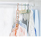Плечики-органайзер для одежды Wonder Hanger Magic Hanger Clothes ( Чудо-вешалка ) 2 шт в наборе, фото 4