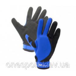 ДВ IST ЦК REEF GLOVES GL-03 рукавички 0,9 мм чорно-сині M (GL-03B-M) (рукавиці) (код 125-467293)