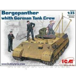 ICM35342 Bergepanther, early with tank crew (код 200-107120)