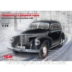 Немецкий 2-х дверный автомобиль седан Капитан (код 200-107137)