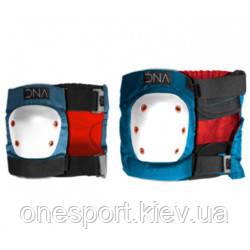 СК захист коліна та ліктів DNA Blue Knee amp; Elbow Pack - M (DNAPRT8A03M 8) + сертификат на 50 грн в подарок